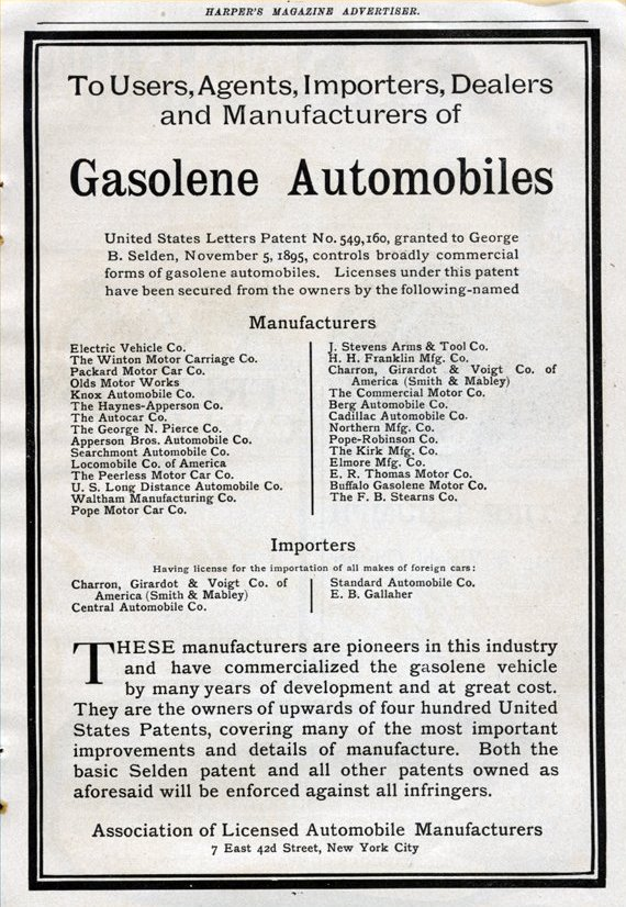 Notice: Users, Agents, Importers, Dealers and Manufacturers of Gasoline Automobiles